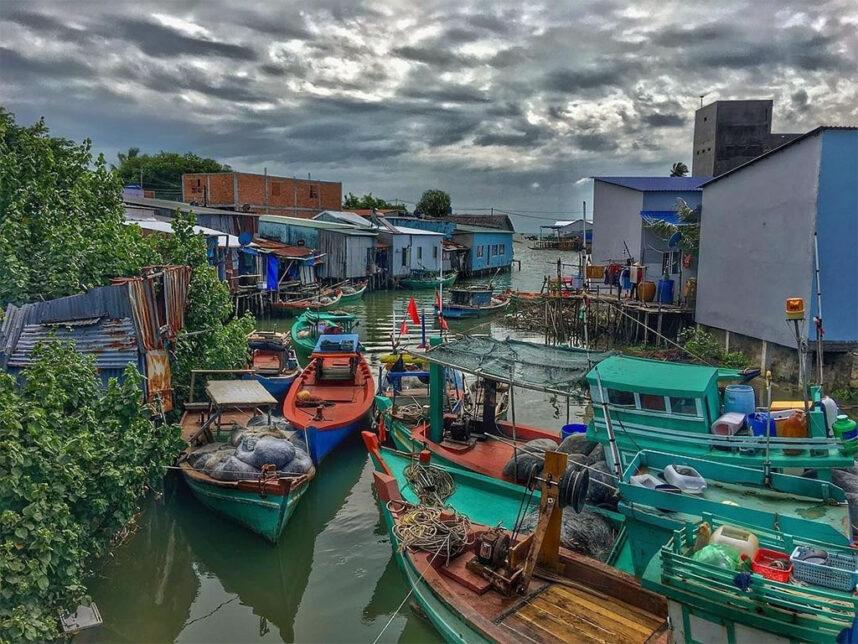 Khám phá chợ Hàm Ninh Phú Quốc